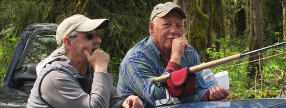 Totem Flyfishers Fishout at Squamish River
